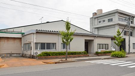丸山工場(田康加工糸株式会社)外観